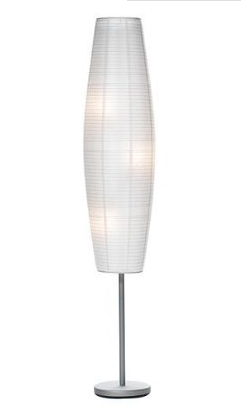 My Superficial Endeavors Rice Paper Lantern Floor Lamp