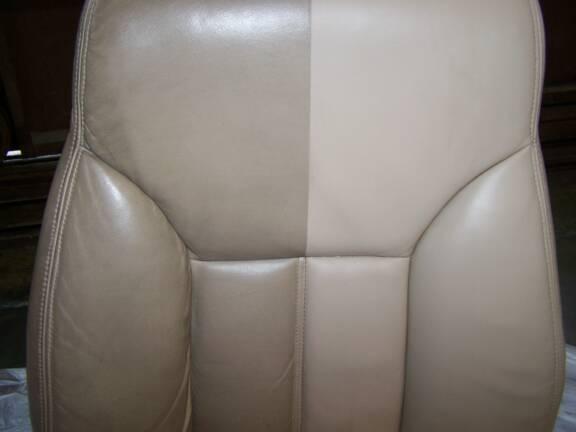 kulit tempat duduk