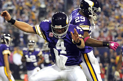 online store 85e9d 58c3e An Opinion On Sports: Vintage Brett Favre: Advantage Vikings