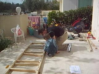 die kaisers auf zypern wir bauen uns einen fahrradst nder. Black Bedroom Furniture Sets. Home Design Ideas