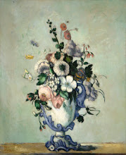 Flowers in a Rococo Vase, c. 1876