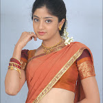Hot Neval Show In Saree