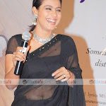 Kajol In Transparent Saree