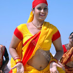 Actress Sexy Neval Show In Saree