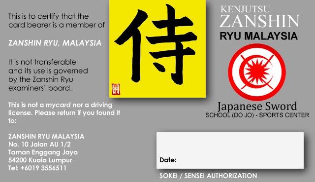 Malaysia's Kenjutsu Samurai School - The Zanshin Ryu Dojo