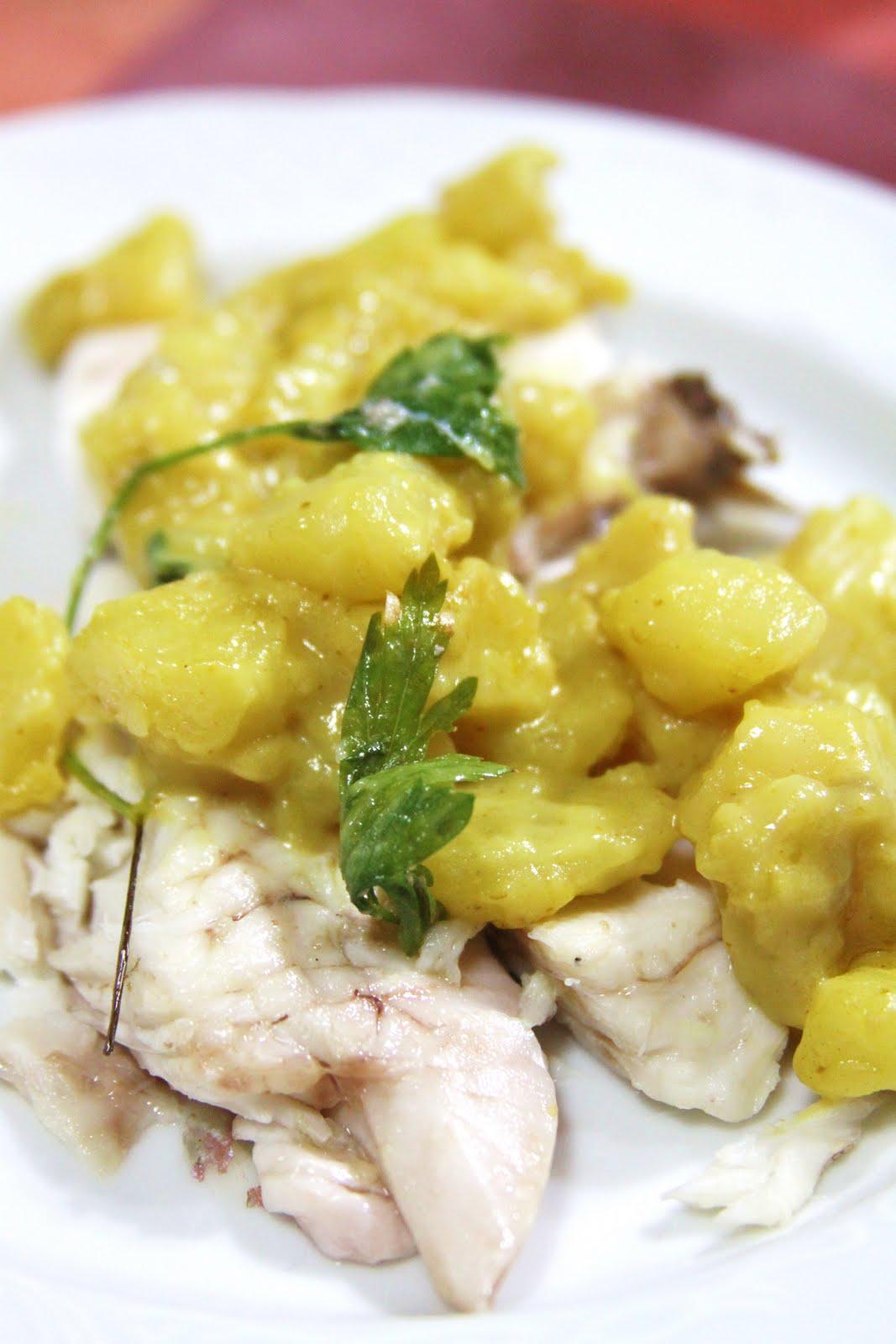 La cuoca avvenente cernia con patate al curry for Quando raccogliere le patate