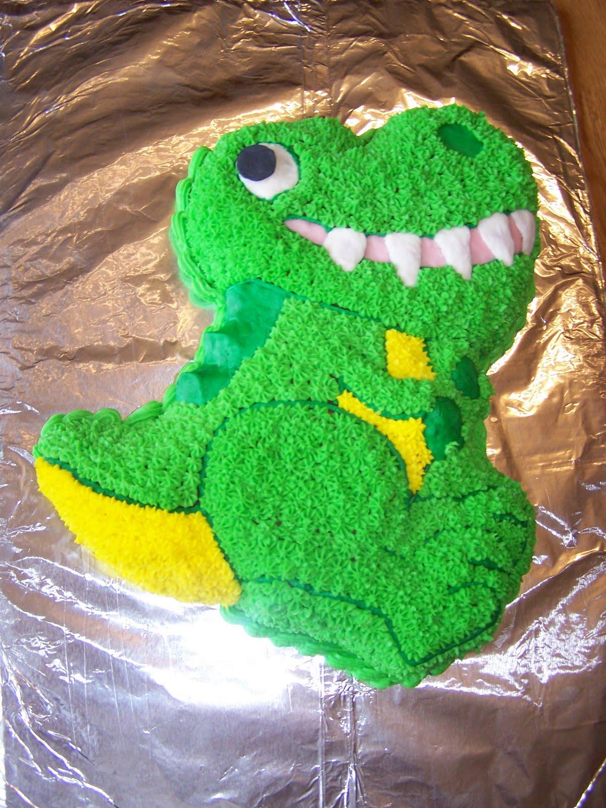 T Rex 3d Cake Pans