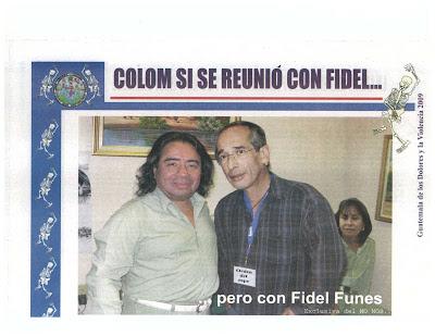 Colom y Fidel