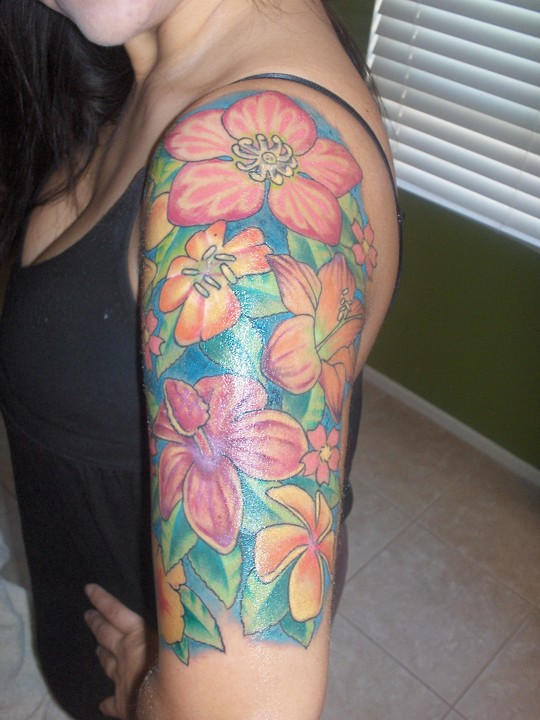 Sleeve Tattoo Ideas For Girls: Mildred Patricia Baena: Quarter Sleeve Tattoos For Girls