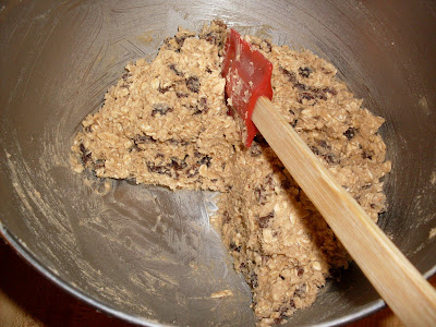 Oatmeal Cookie Dough, for the freezer. Package and freeze, cookies on demand!