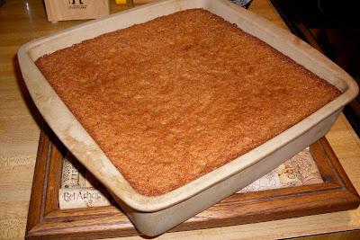 Graham Cracker Crumb Cake