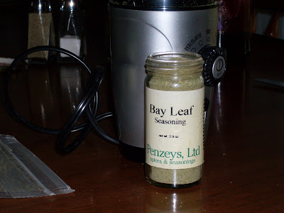 Homemade version of Penzy's Bay Leaf Seasoning.