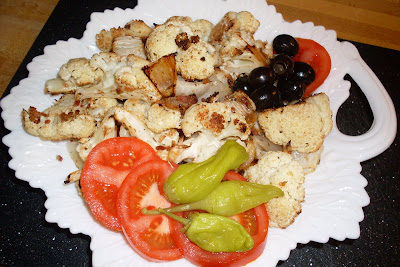 Roasted Cauliflower Salad, different and delicious!