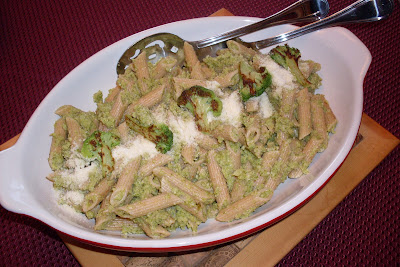 Broccoli Sauce For Pasta, a Laurie Colwin recipe