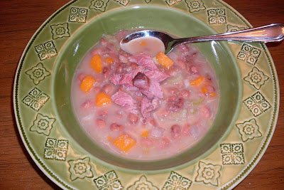 Old Fashioned Bean Soup, a time honored soup that everyone enjoys.