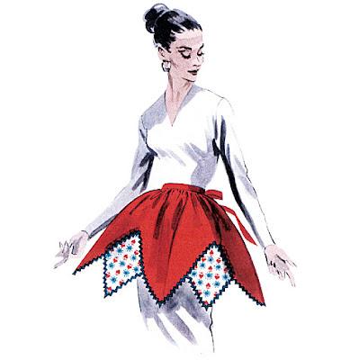 va-voom vintage retro apron sew-along