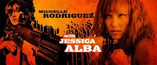Jessica Alba y Michelle Rodriguez en Machete