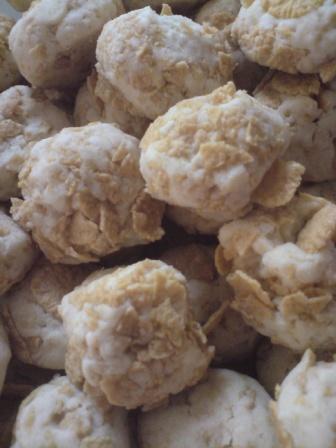 Its My Life Resepi Biskut Cornflakes Rangup Crunchy