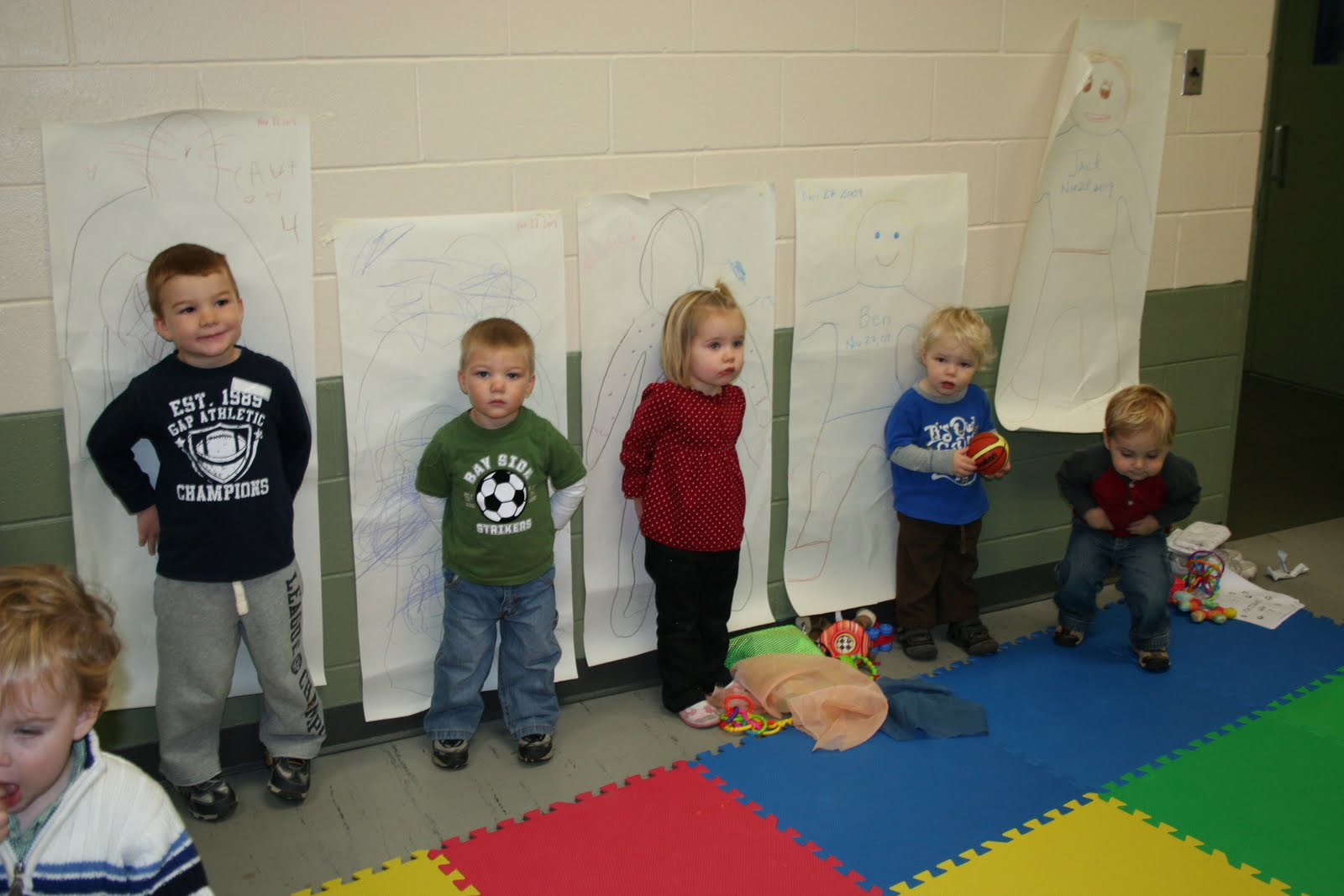 Parts Of The Body Preschool Craft
