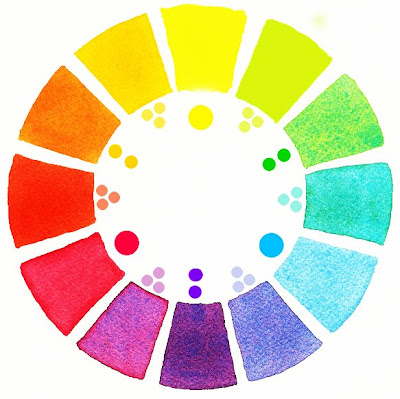 As We Continue To Paint A Watercolor Color Wheel If You Missed Lesson 8 Go Back That Post And Take Look It Will Show The Materials Need
