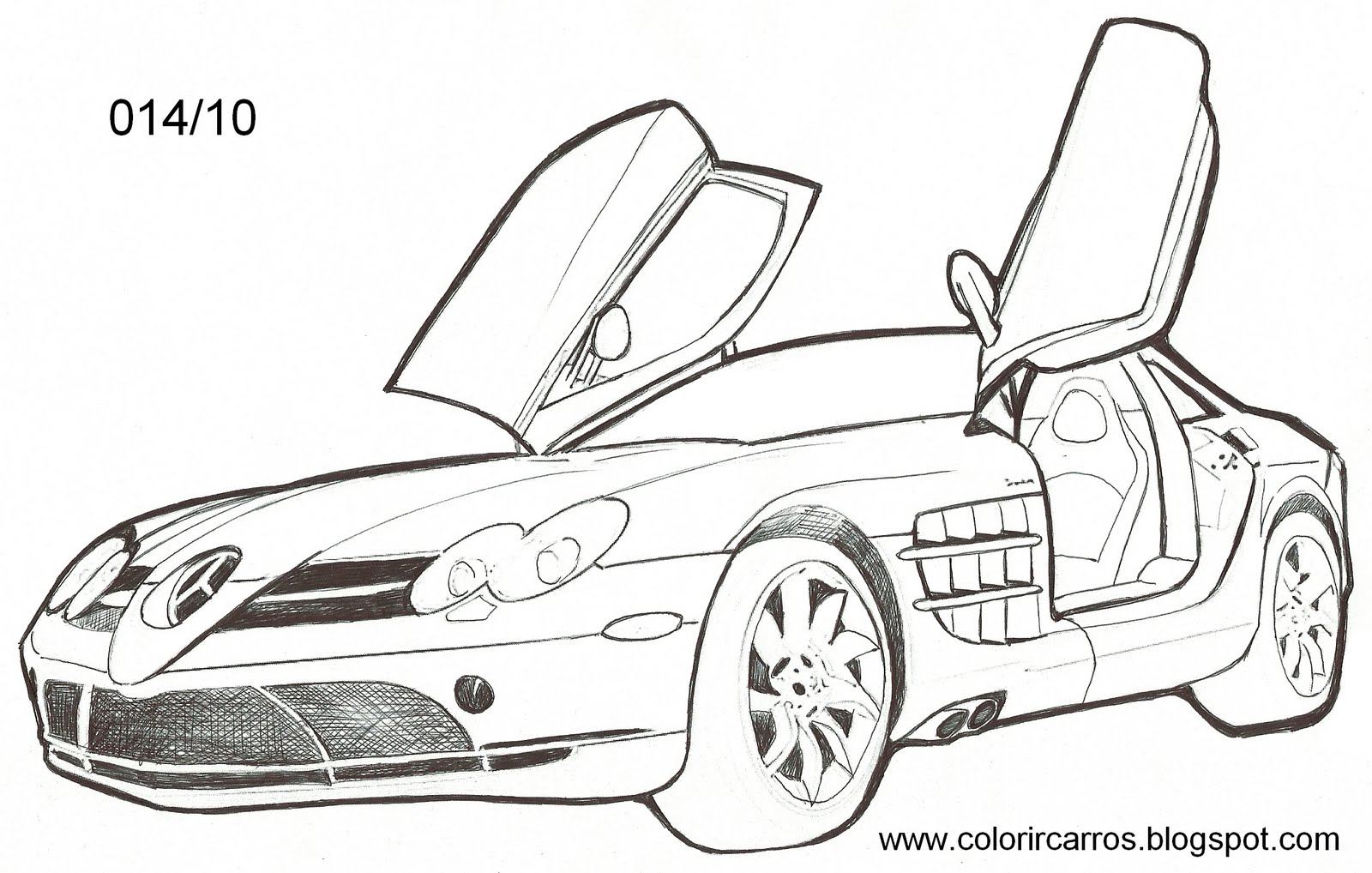Dibujos Carros Mustang Para Colorear Imagui