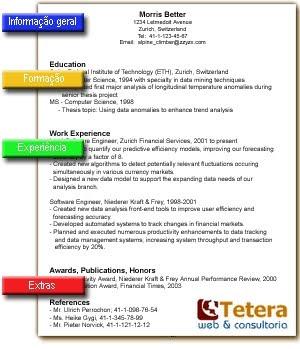 Curriculo O Curriculum Con Tilde Pero Curriculum Vitae