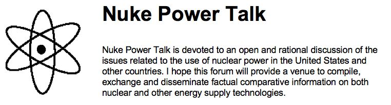 Nuke Power Talk