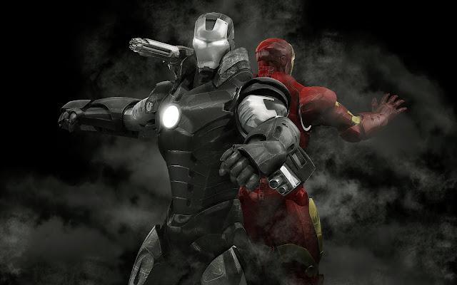 War Machine-Iron Man-close