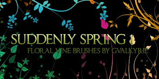 Most Wanted Free Photoshop Floral Brushes Set