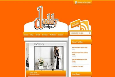 Beautiful Orange Websites