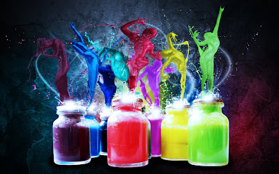 Paint Dancers Wallpaper Pack wallpaper