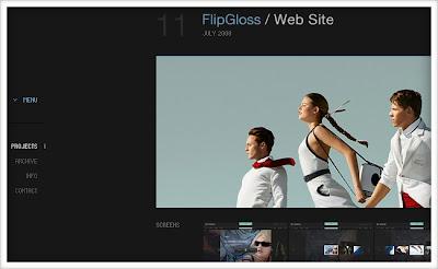 Well-Designed Flash Portfolios