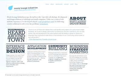 Web Design Trends Of Minimal Site