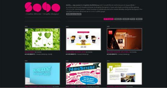 Soho portfolio design