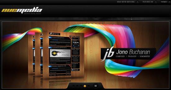 Nu Media portfolio design