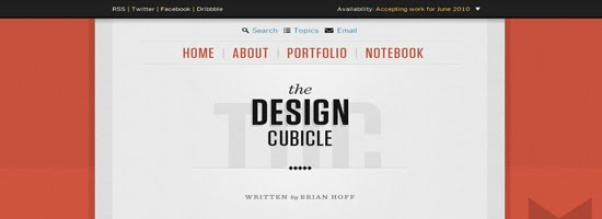 Brian Hoffs Design Cubicle