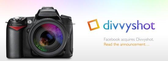 Divvyshot web design