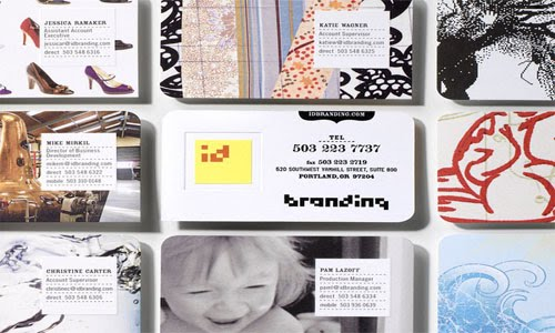 ID Branding System business card