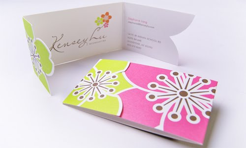 Kensey Lu business card