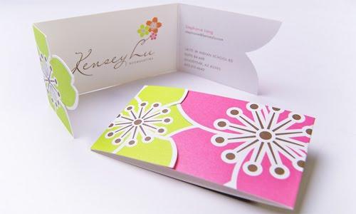 Kensey Lu business card