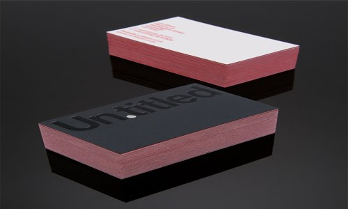 Untitled ID business card