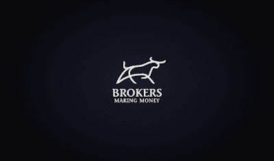 Brokers logo design process