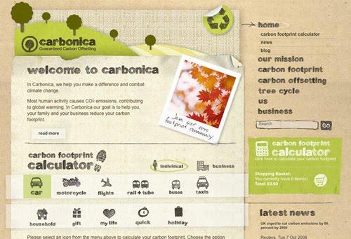 Nature Inspired Websites