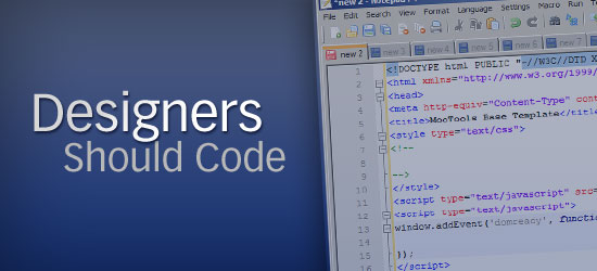 Why Designers Should Learn How to Code