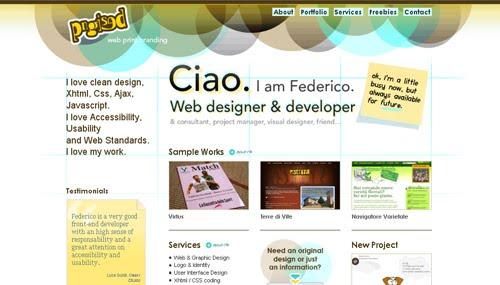 Pngised web design