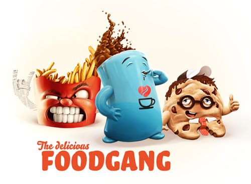 The Food Gang by Robert Hellmundt