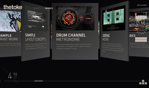 thetoke web design