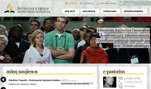 adventistai web design