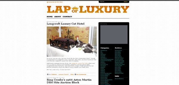 LapOfLuxury Theme Released