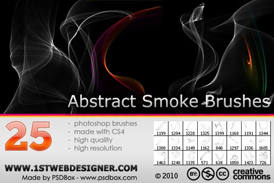 Original And FREE Abstract Smoke Brushes
